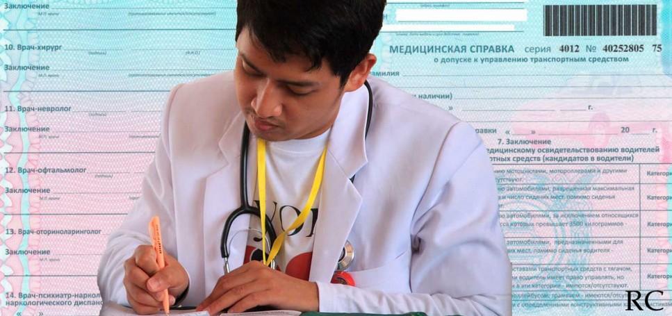 Справка от врача срок действия