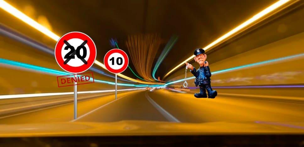 Какой штраф за превышение скорости в year году таблица и как оспорить