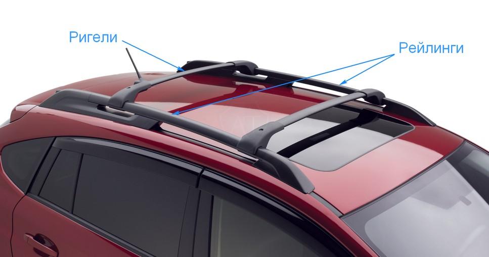 Рейлинги и ригели на багажник на крышу авто