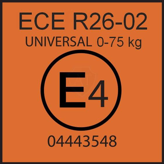 Маркировка ЕЭК ООН 26-02 для багажника на крышу