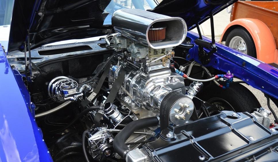 Заменённый двигатель