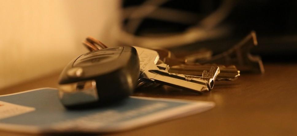 Ключи от машины с ограничениями регистрации из-за приставов