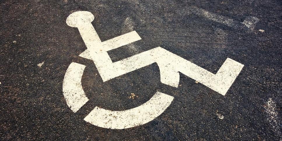 Знак стоянка для инвалидов зона