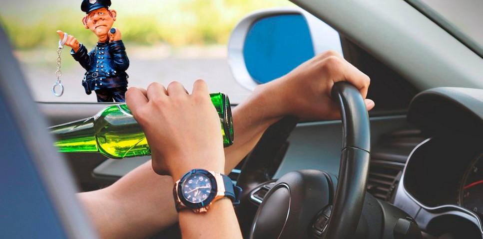 Арест за пьяную езду при лишении прав