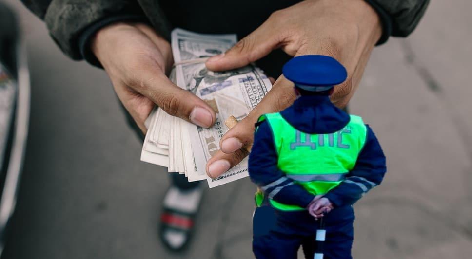 Что грозит за взятку сотруднику ГИБДД