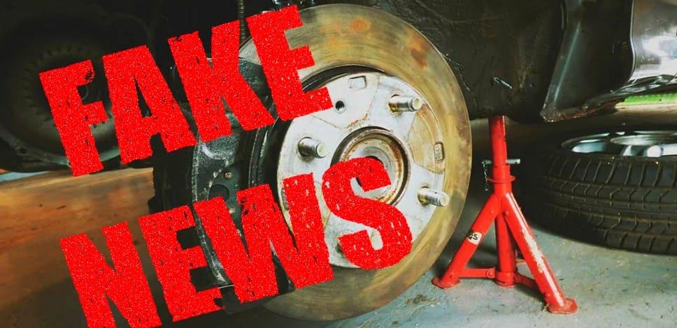 Фейк об отмене штрафа за ДТП без техосмотра