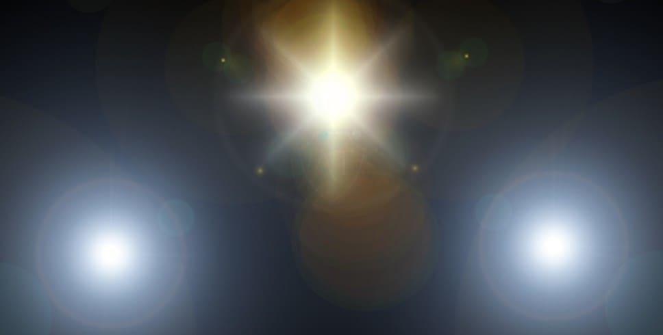 Головной свет на снятом с производства автомобиле