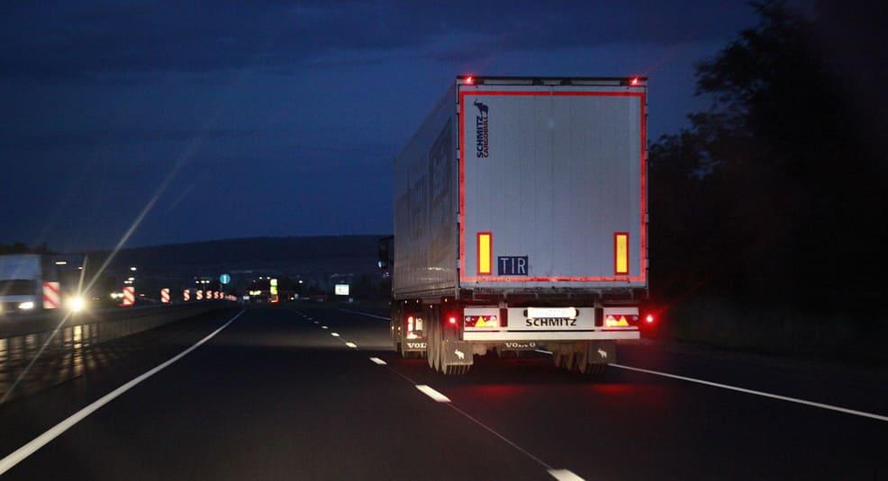 Контроль тахографов на дороге