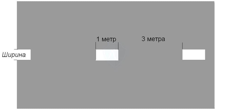 Линия разметки 1.8 на полосе для разгона