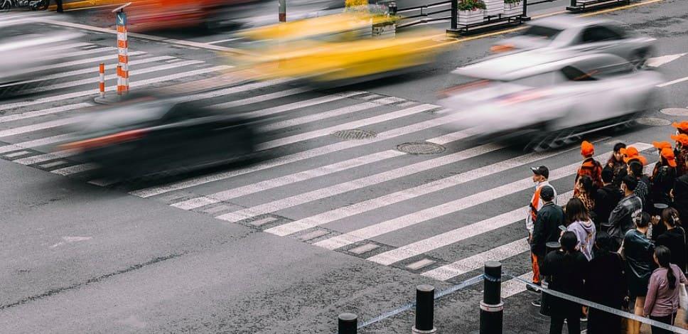 Незаконное наказание за пешеходный переход