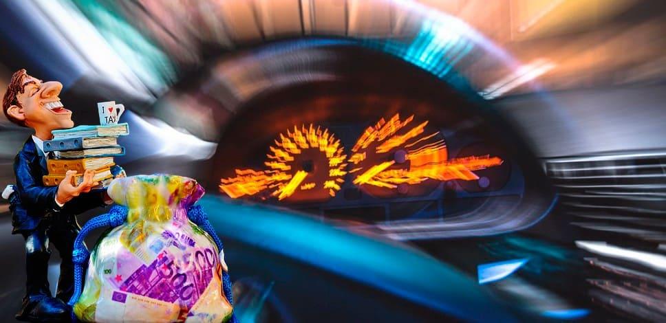 Ограничения скоростного режима на дорогах
