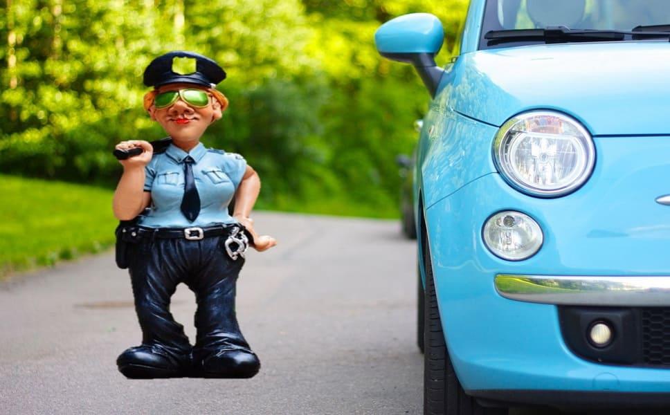 Прекращение учёта ТС на дороге инспектором
