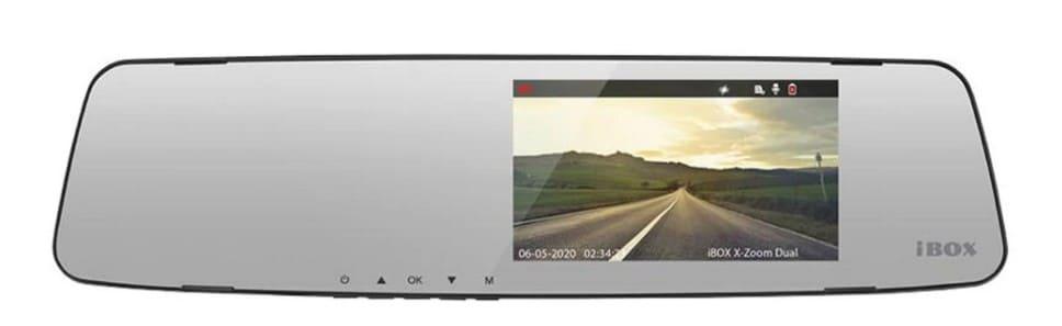 Пример зеркала-видеорегистратора, которое можно устанавливать законно
