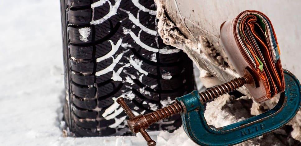 Штраф за летнюю резину зимой для автомобилистов
