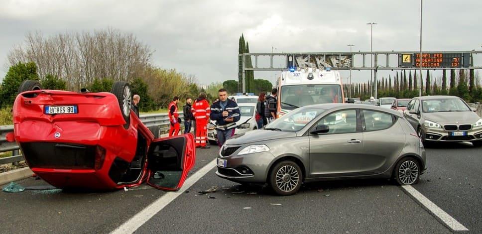 Штраф за объезд аварии с пересечением сплошной линии разметки