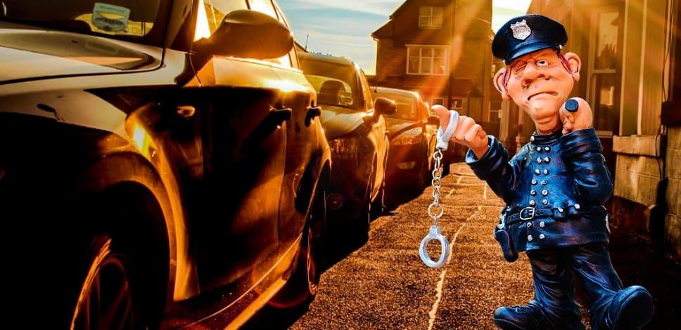 Запрет ставить автомобиль в своём дворе многоэтажного дома