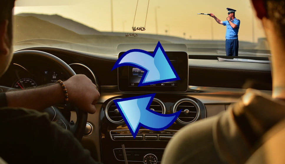Подмена водителя после ДТП