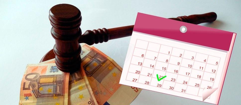 Пропуск 20 дней для скидки на штраф