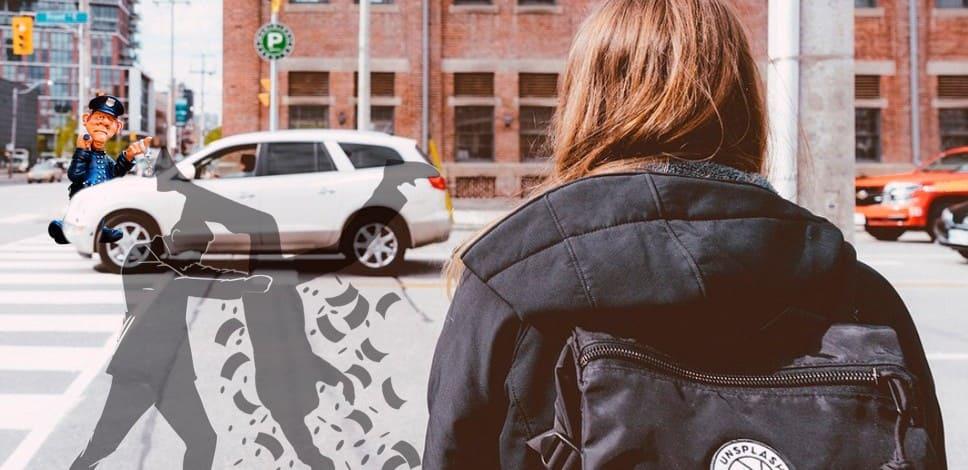 Пропускать ли пешехода