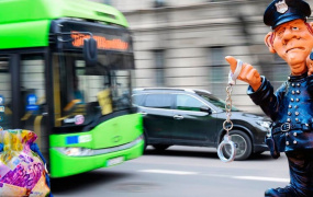 Штраф за автобусную