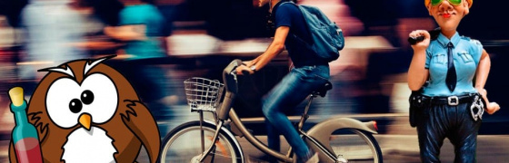 Пьяный велосипедист