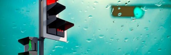 Квадратный светофор